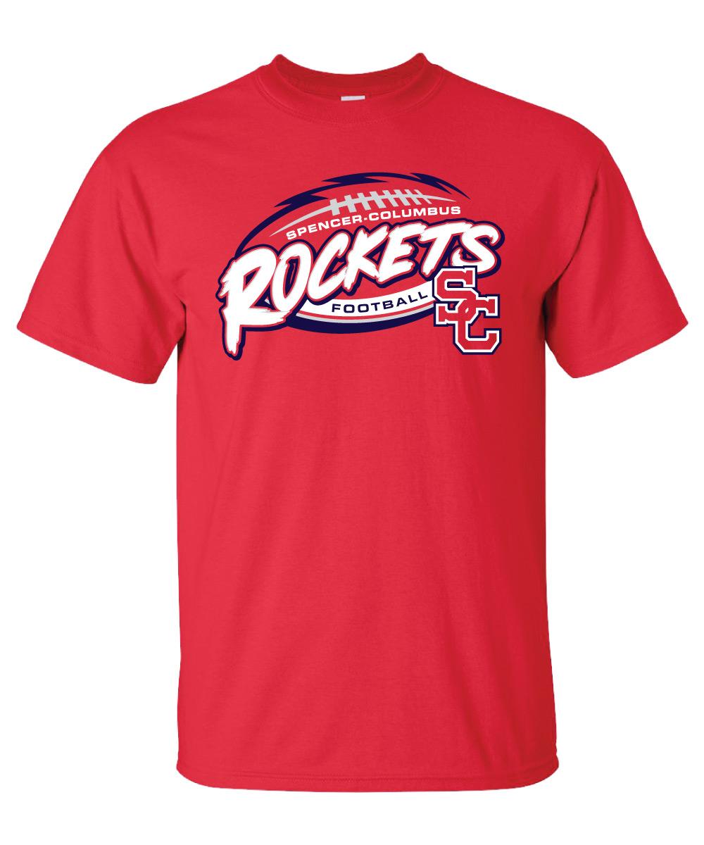 Spencer-Columbus Footbal T-Shirt