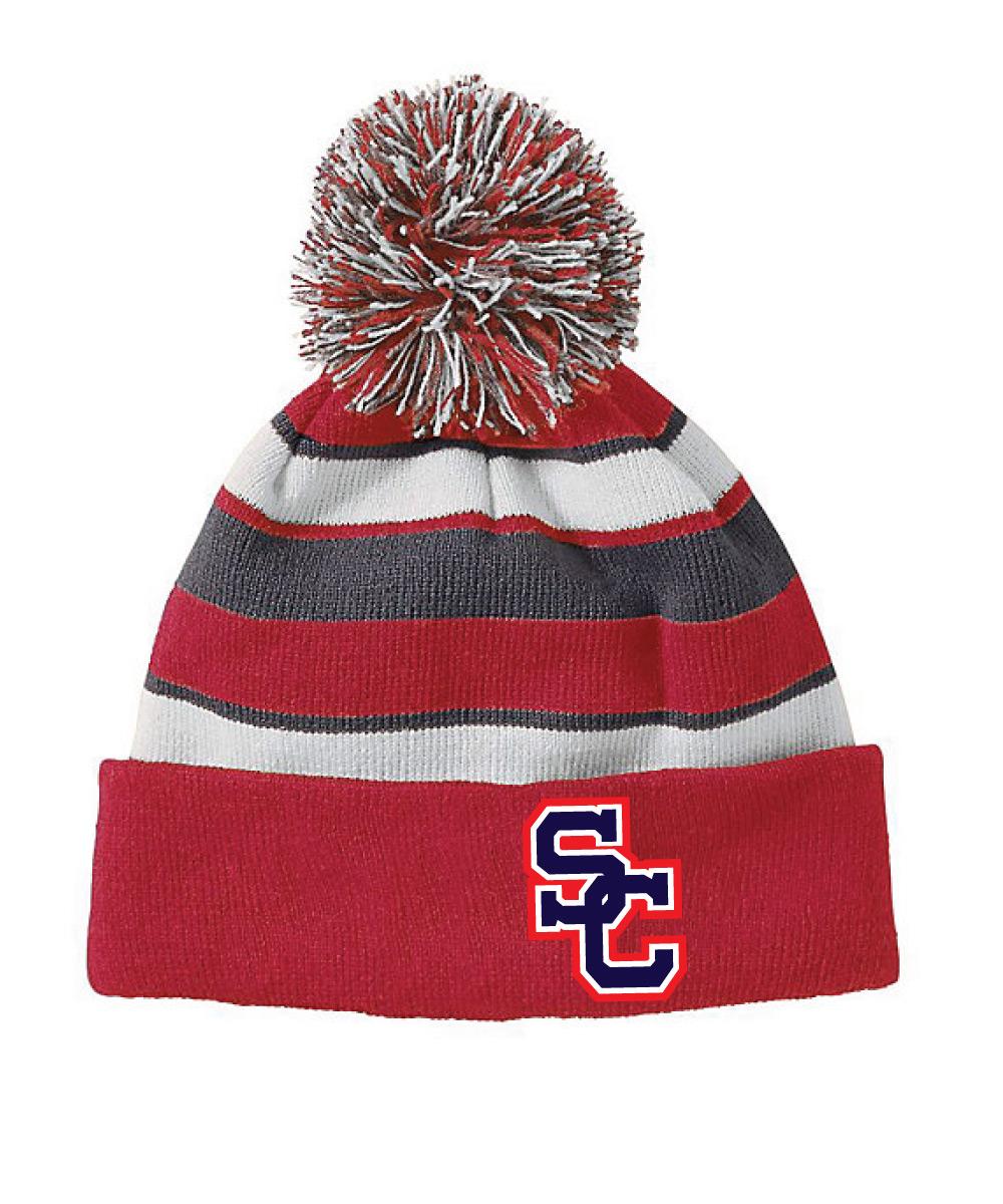 Spencer-Columbus Striped Knit Cap