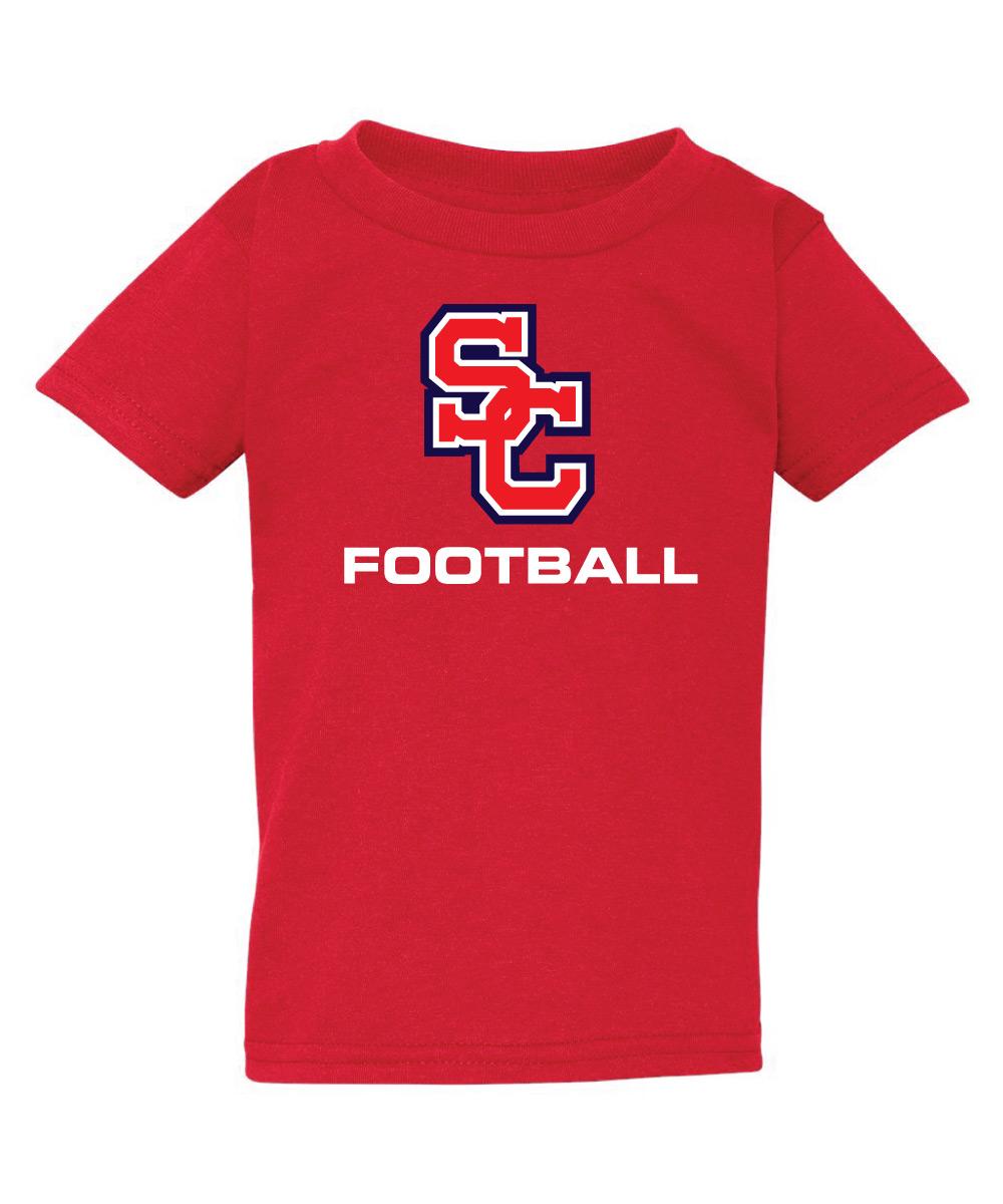 Spencer-Columbus Footbal Toddler T-Shirt