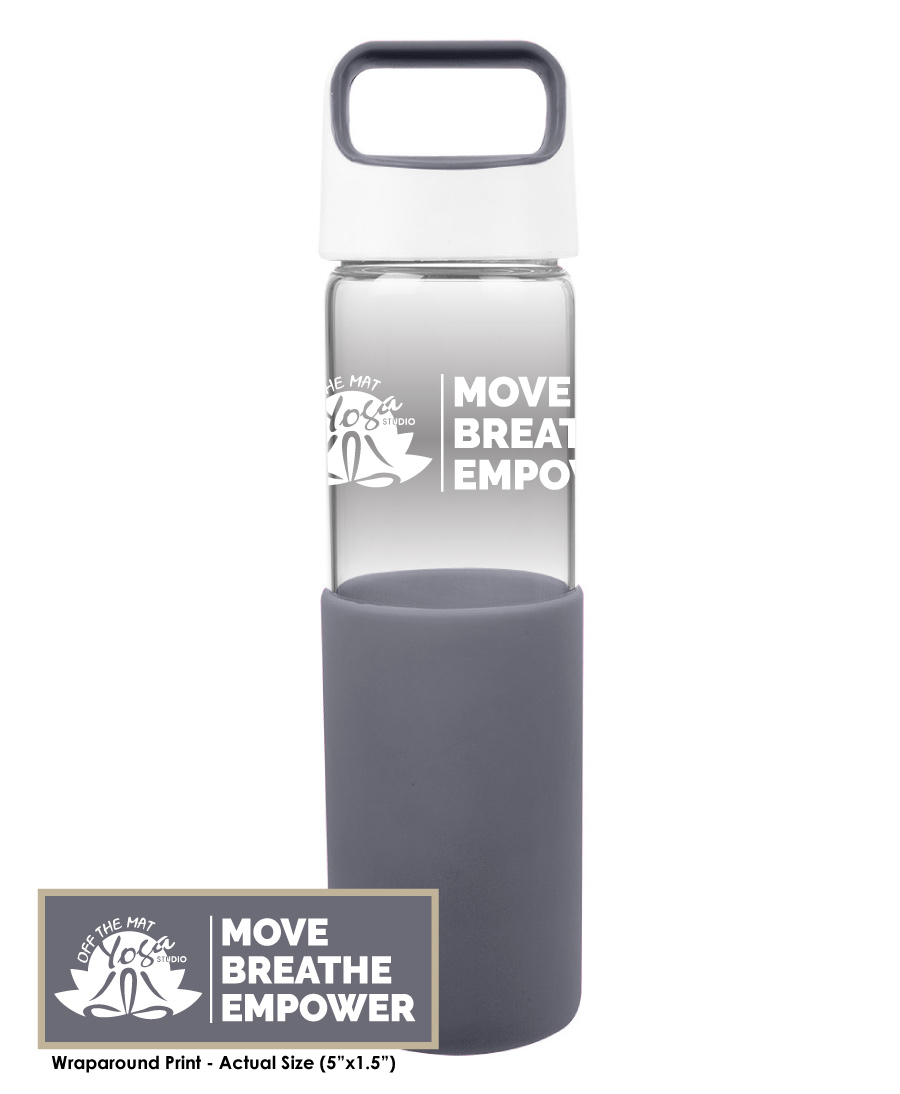 Off The Mat Yoga Water Bottle