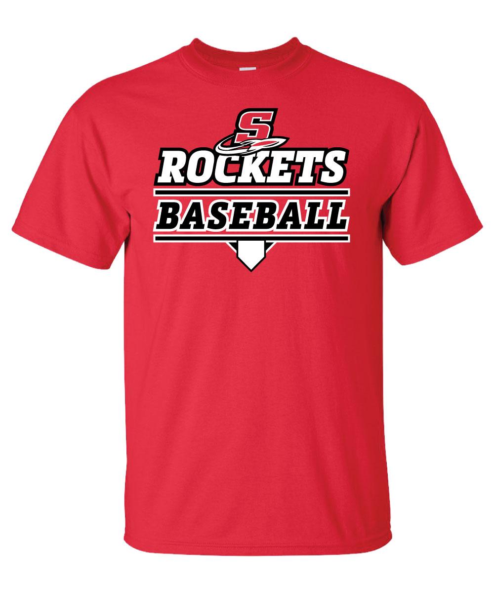Spencer Rocket Baseball T-Shirt